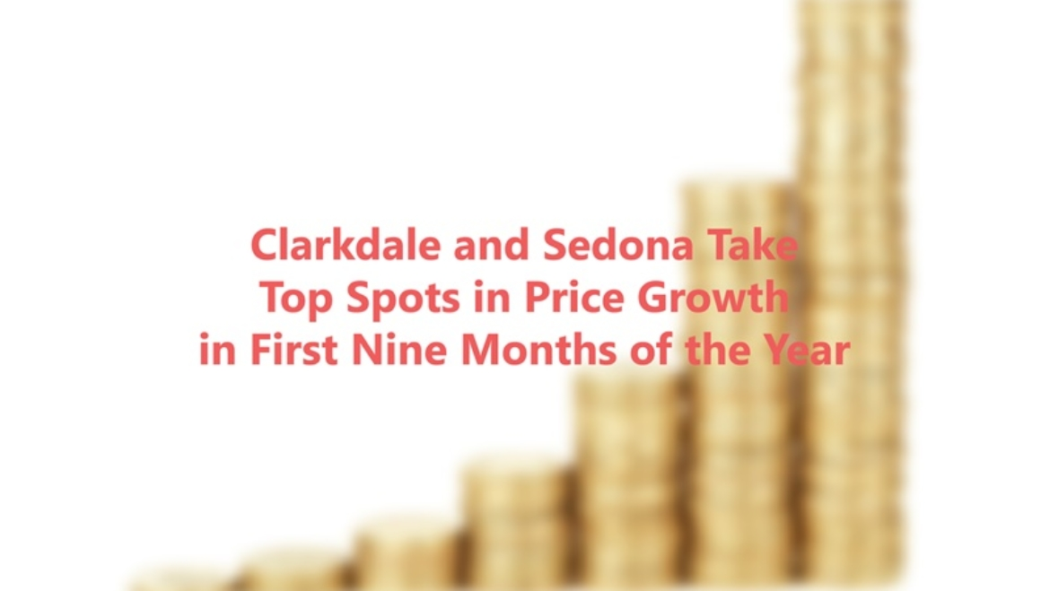 Clarkdale and Sedona Take Top Spots in Price Growth – Sedona Real Estate